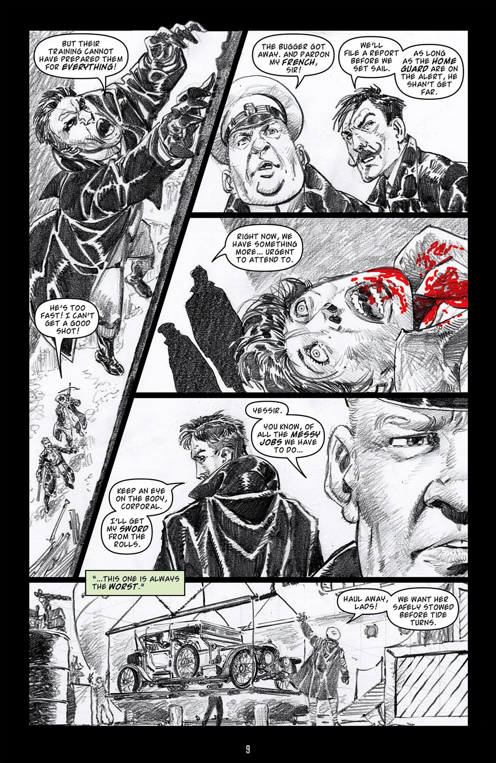 Read online Angel: Blood & Trenches comic -  Issue #3 - 11
