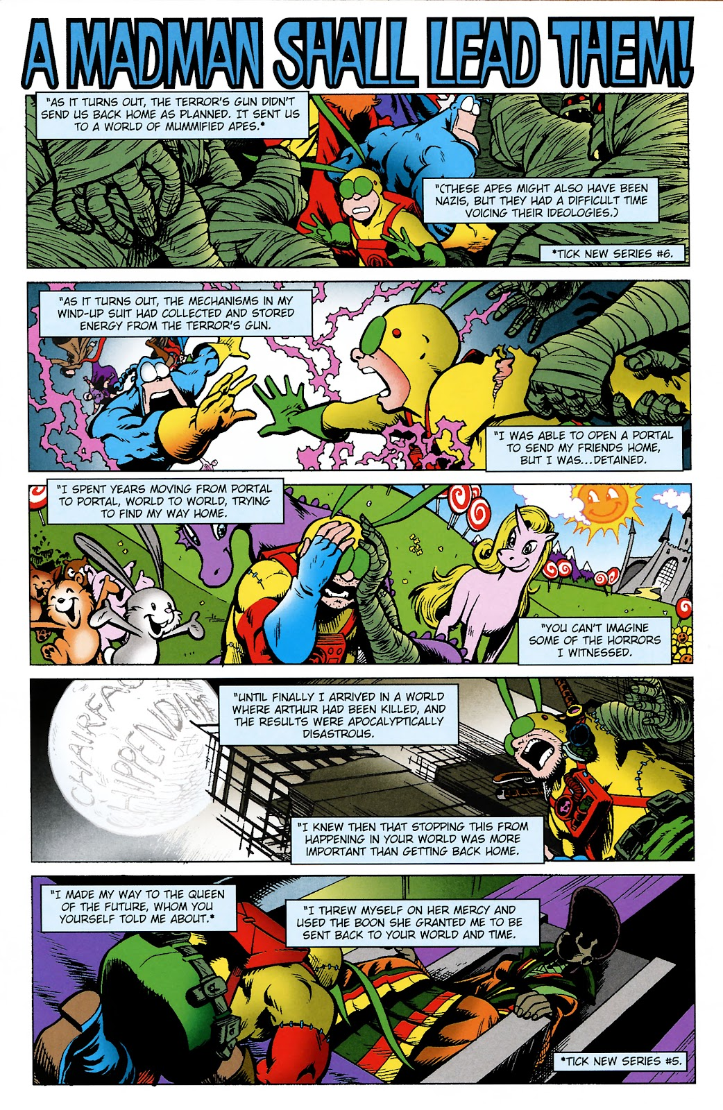 Read online The Tick comic -  Issue #101 - 5