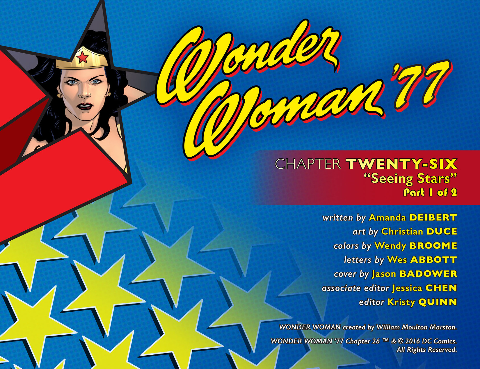 Read online Wonder Woman '77 [I] comic -  Issue #26 - 2