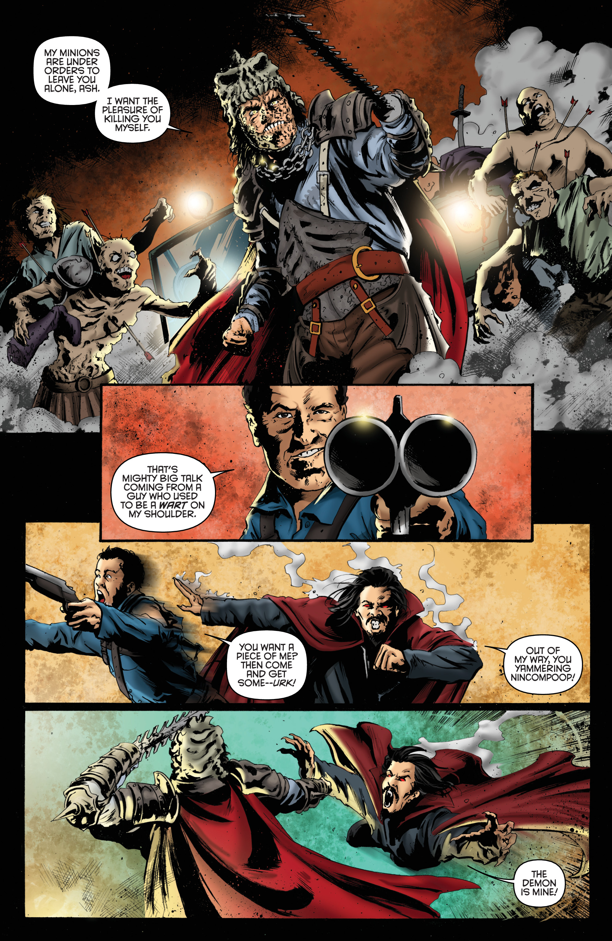 Read online Army of Darkness: Furious Road comic -  Issue #6 - 13