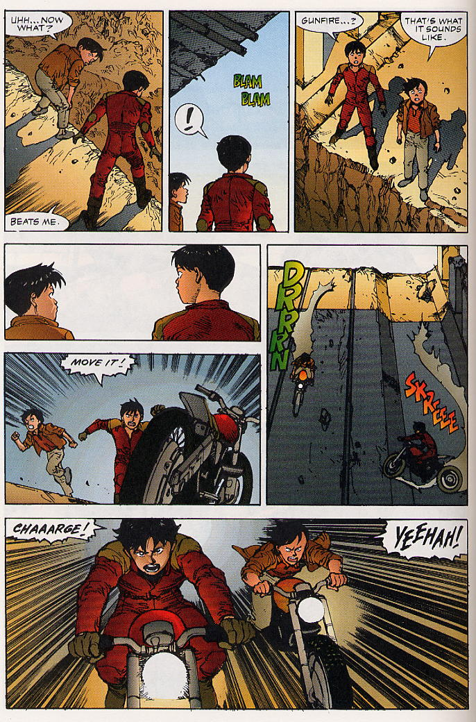 Read online Akira comic -  Issue #25 - 61