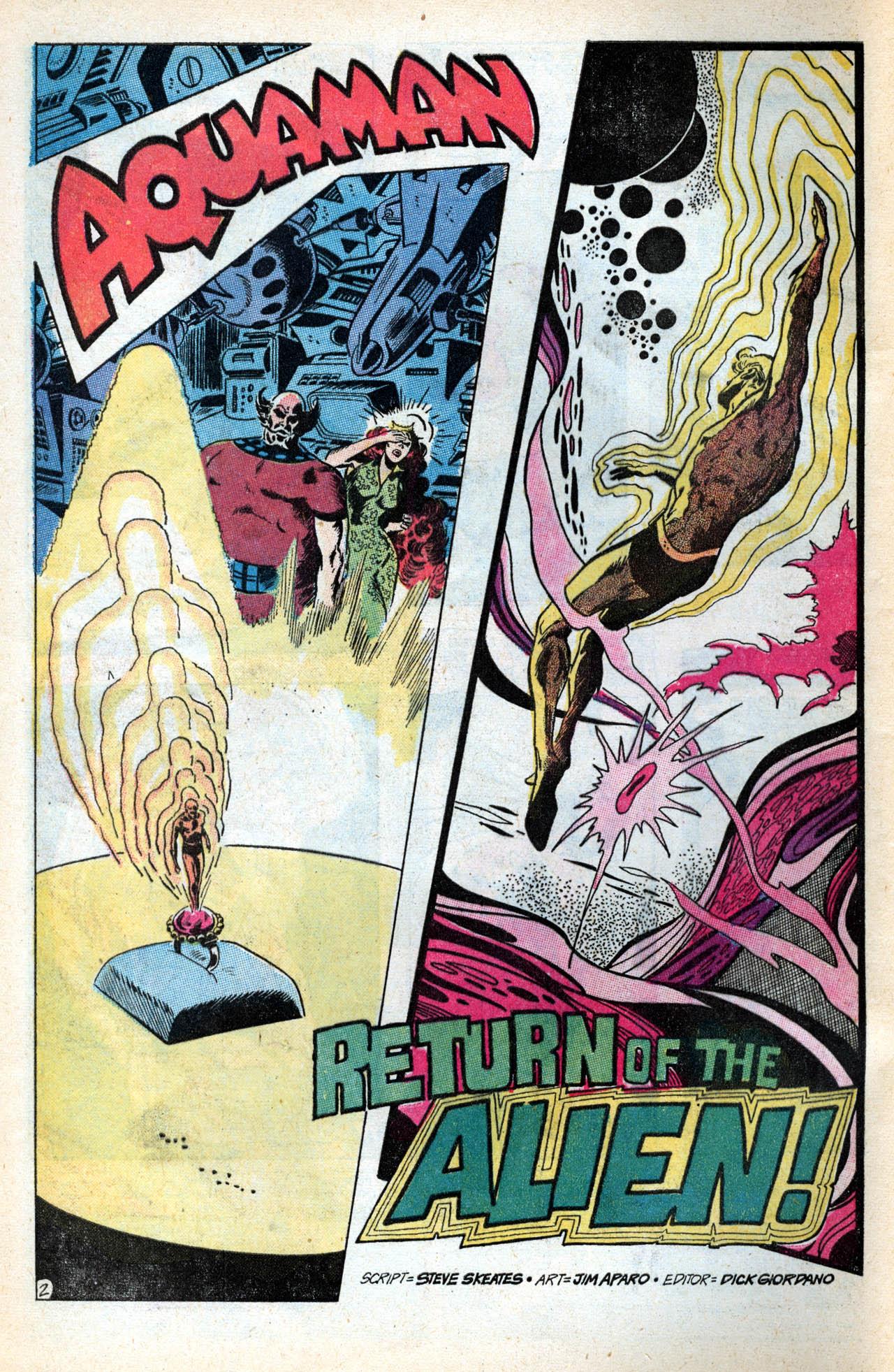 Read online Aquaman (1962) comic -  Issue #55 - 4