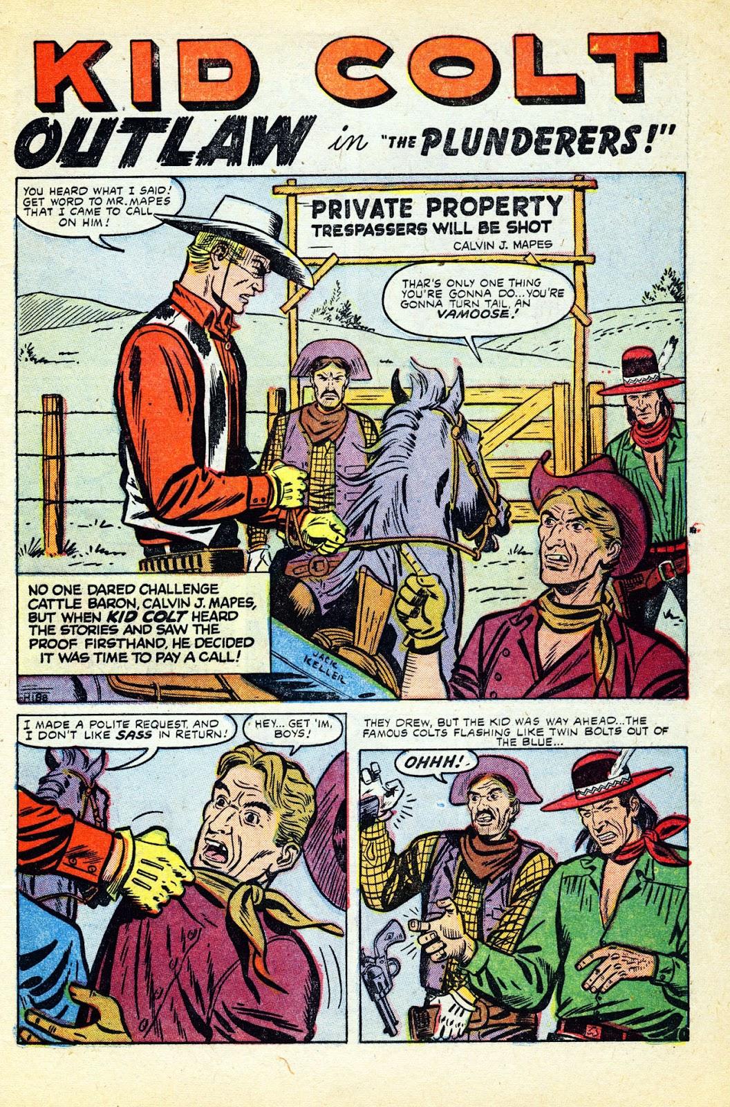 Gunsmoke Western issue 32 - Page 3
