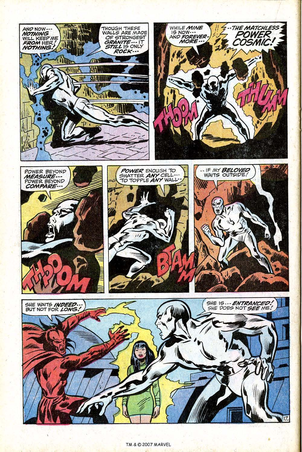 Read online Silver Surfer (1968) comic -  Issue #17 - 24