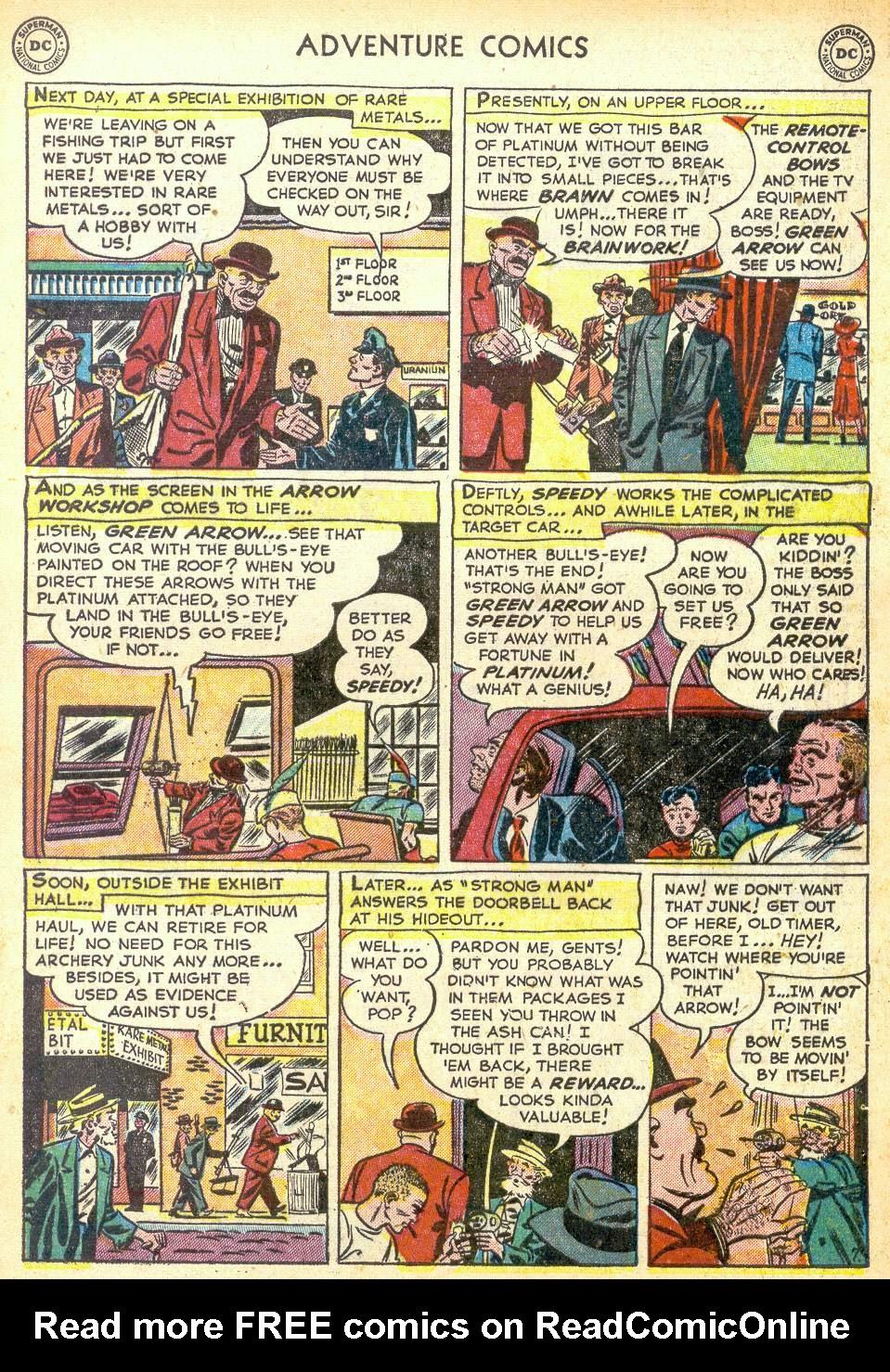 Read online Adventure Comics (1938) comic -  Issue #172 - 39
