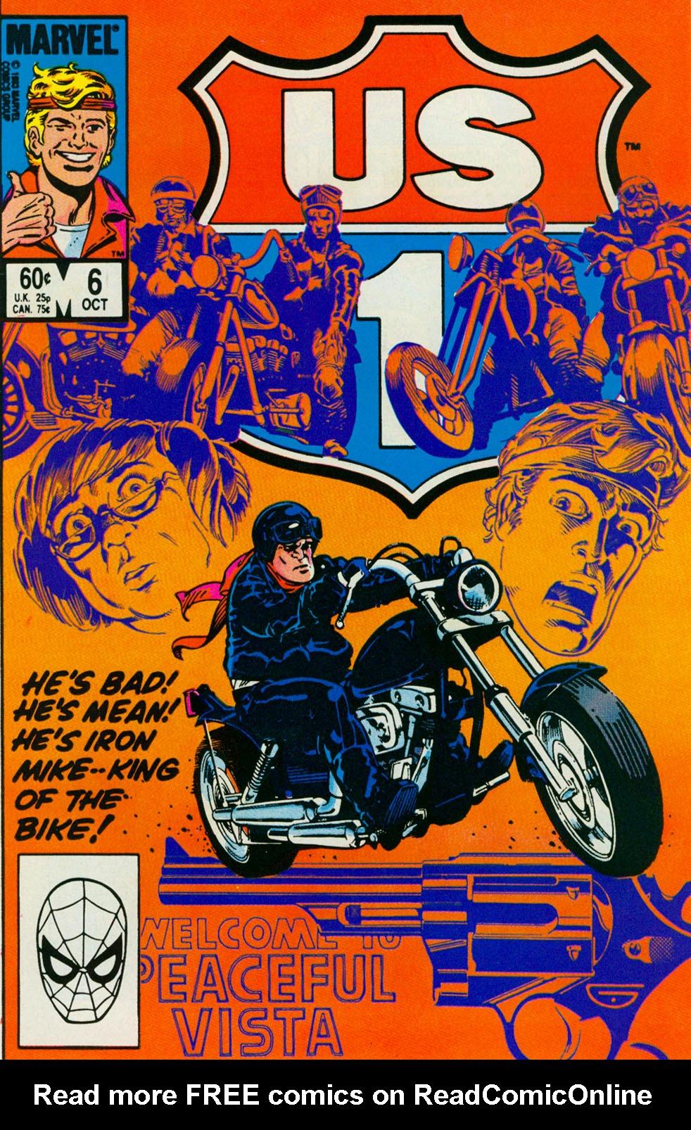 Read online U.S. 1 comic -  Issue #6 - 1
