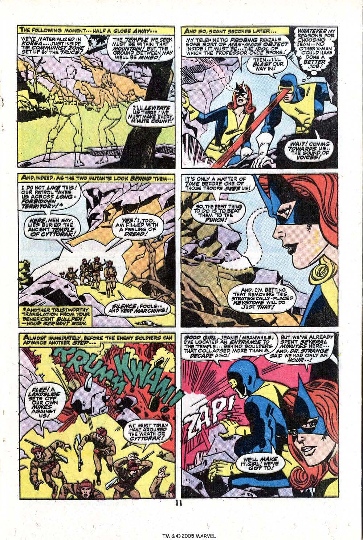 Read online Uncanny X-Men (1963) comic -  Issue #81 - 13