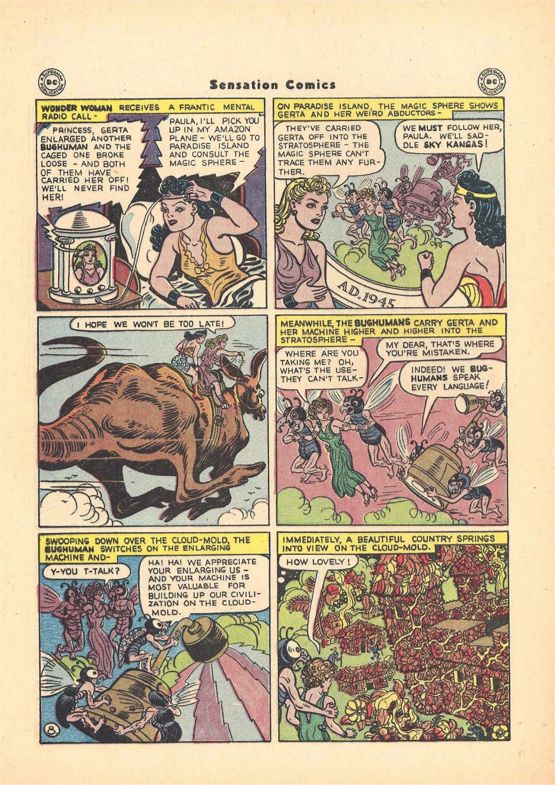 Read online Sensation (Mystery) Comics comic -  Issue #55 - 10