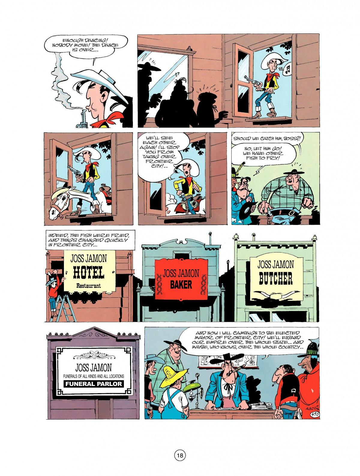 Read online A Lucky Luke Adventure comic -  Issue #27 - 19