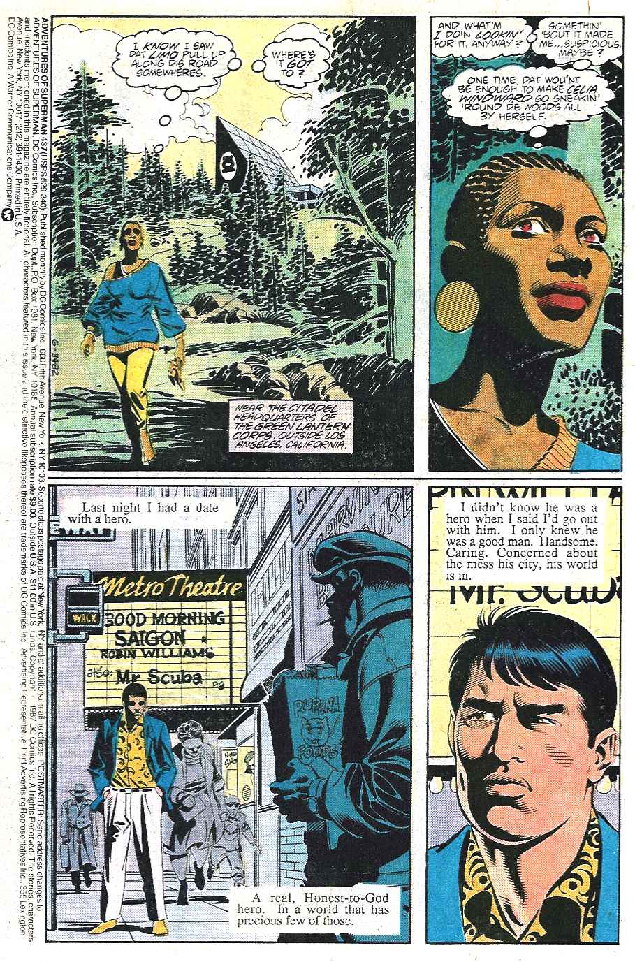 Read online Adventures of Superman (1987) comic -  Issue #437 - 2