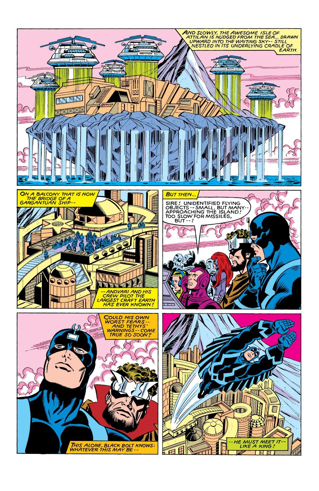 Read online Marvel Masterworks: The Inhumans comic -  Issue # TPB 2 (Part 3) - 94