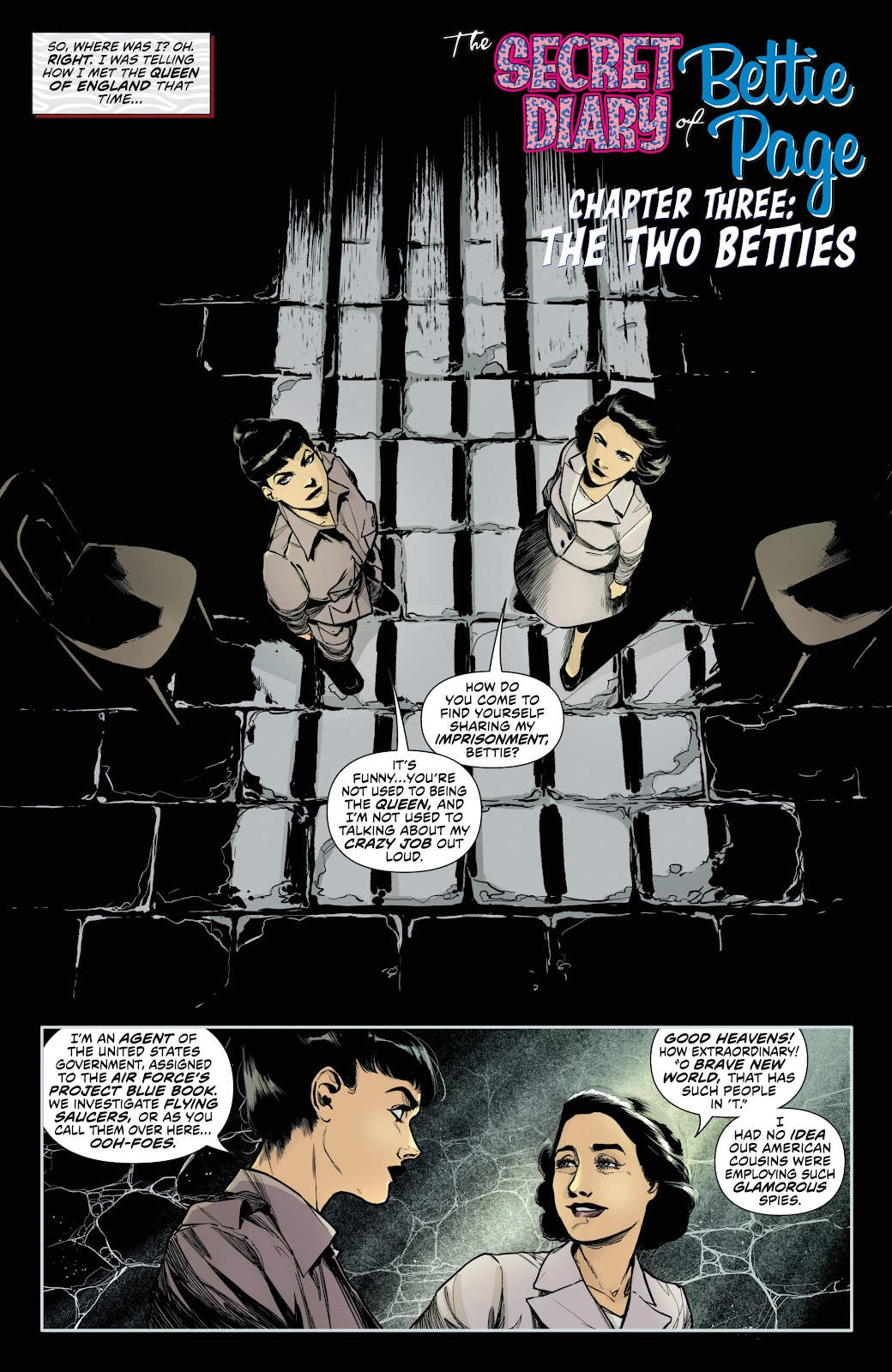 Read online Bettie Page (2018) comic -  Issue #3 - 7
