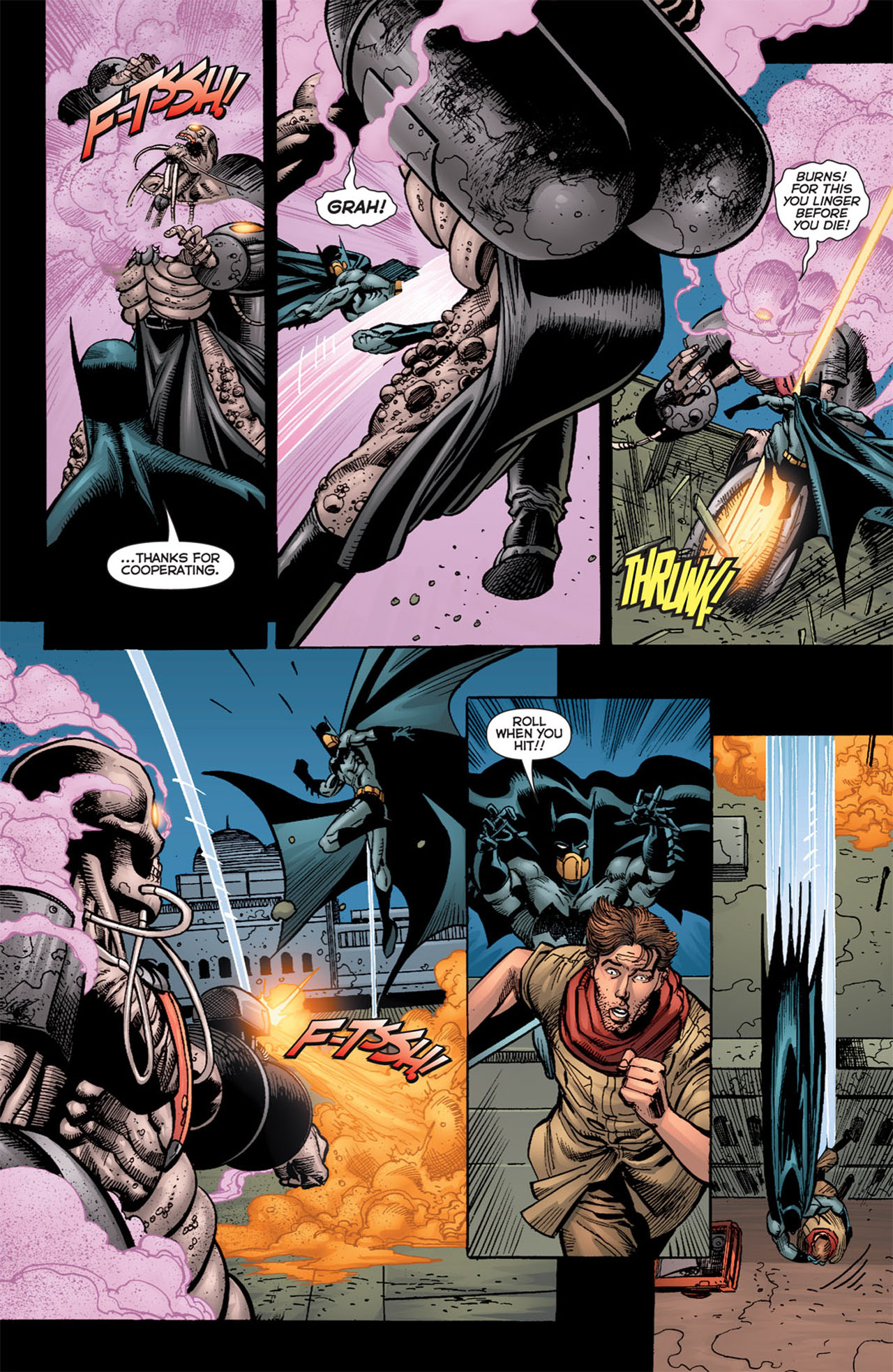 Read online 52 Aftermath: The Four Horsemen comic -  Issue #4 - 17