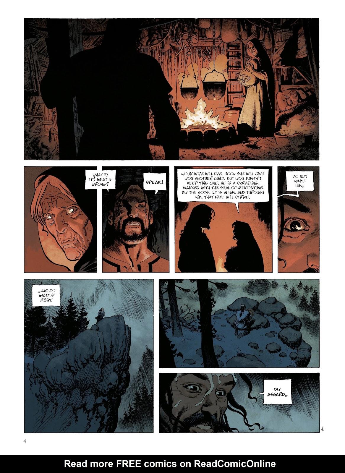 Read online Asgard comic -  Issue #1 - 6