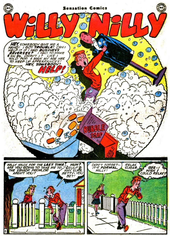 Read online Sensation (Mystery) Comics comic -  Issue #64 - 23