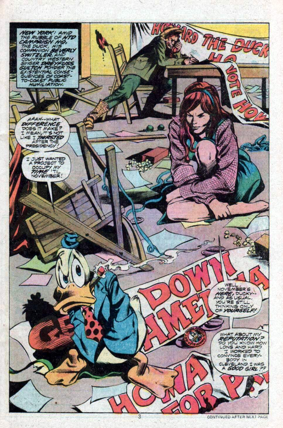 Howard the Duck (1976) Issue #9 #10 - English 4