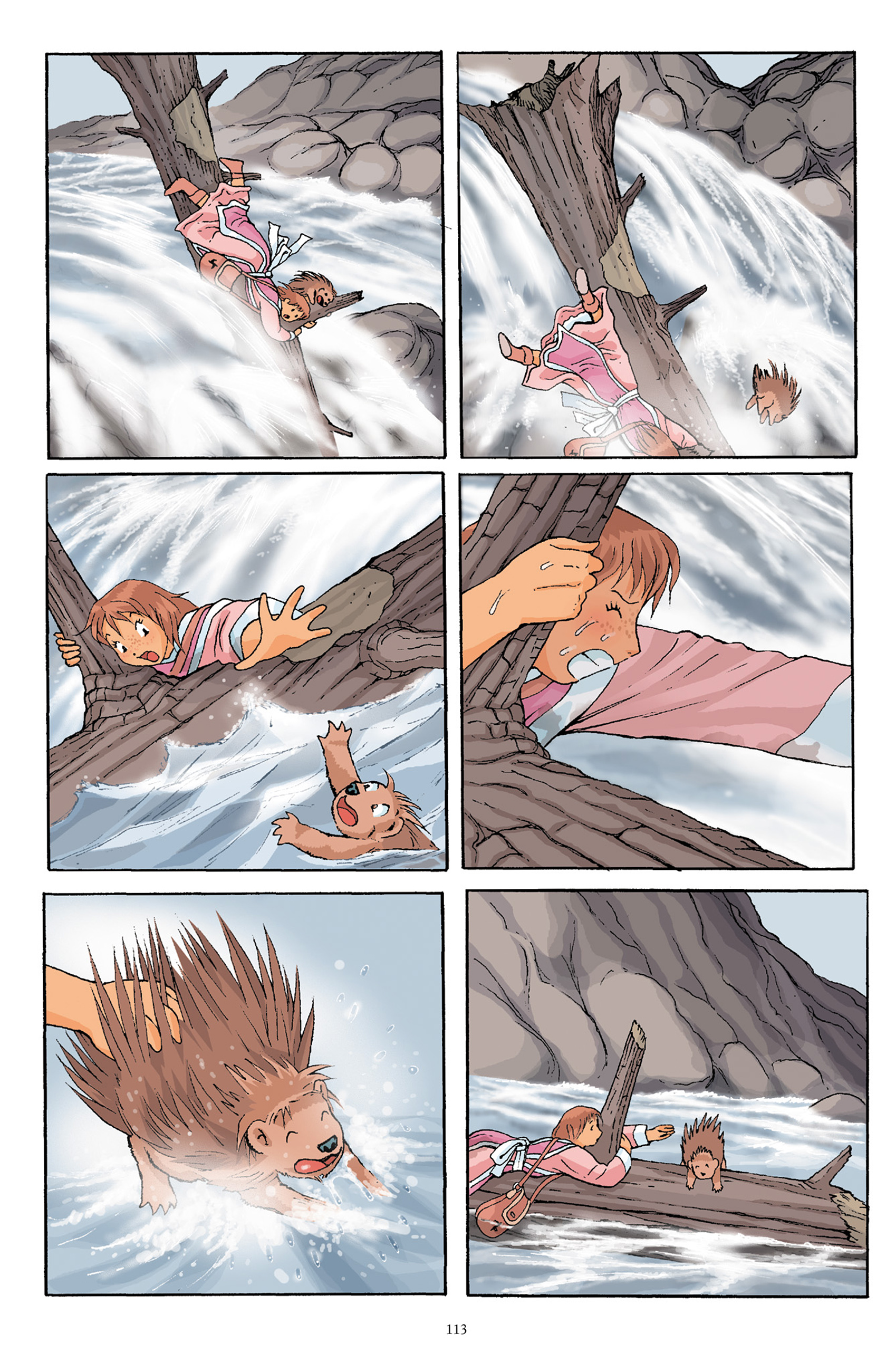 Read online Courageous Princess comic -  Issue # TPB 1 - 112