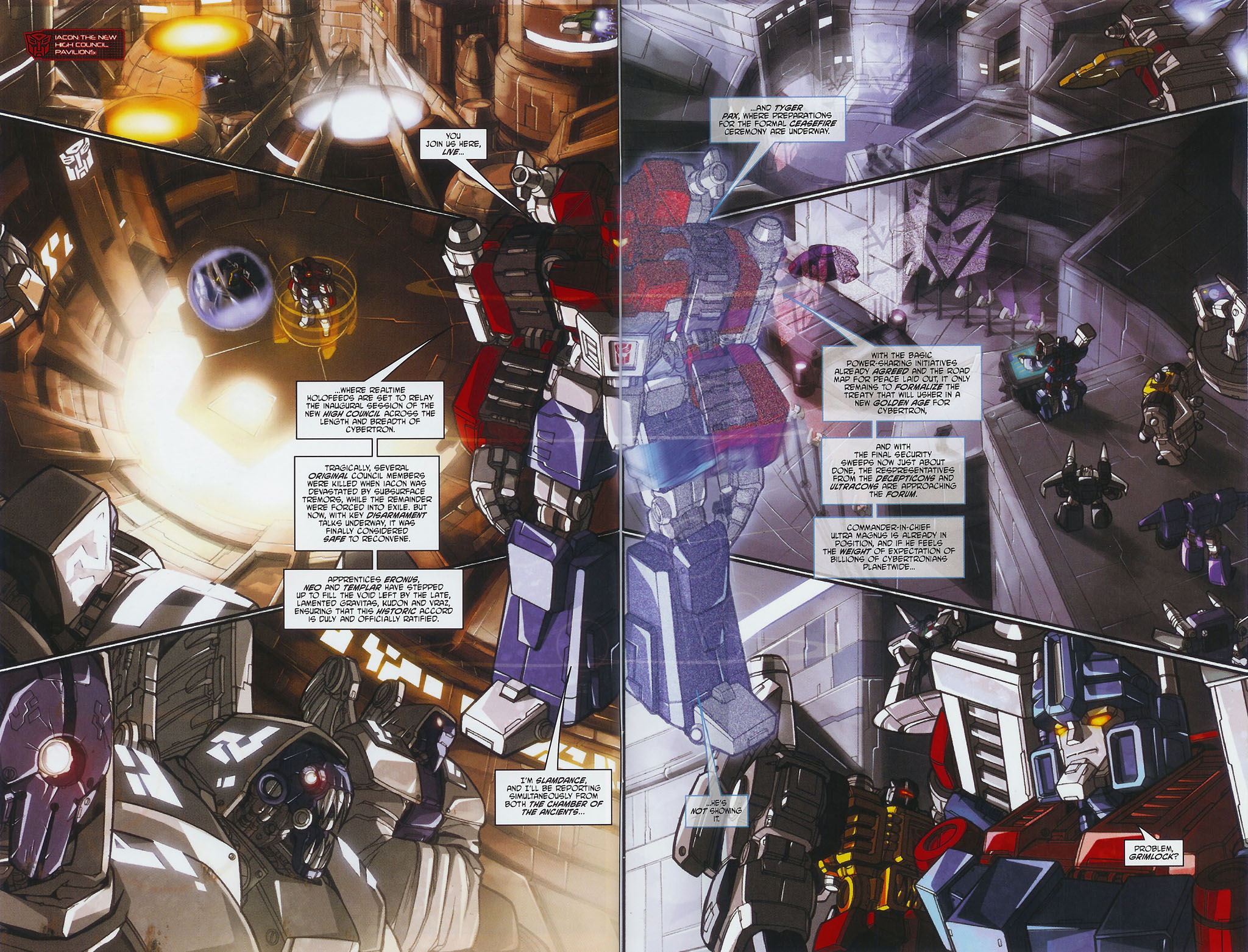 """Read online Transformers War Within: """"The Age of Wrath"""" comic -  Issue #1 - 10"""