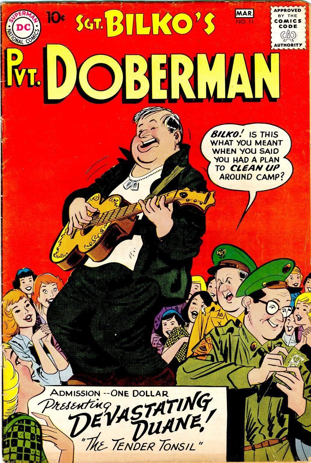 Sgt. Bilko's Pvt. Doberman issue 11 - Page 1
