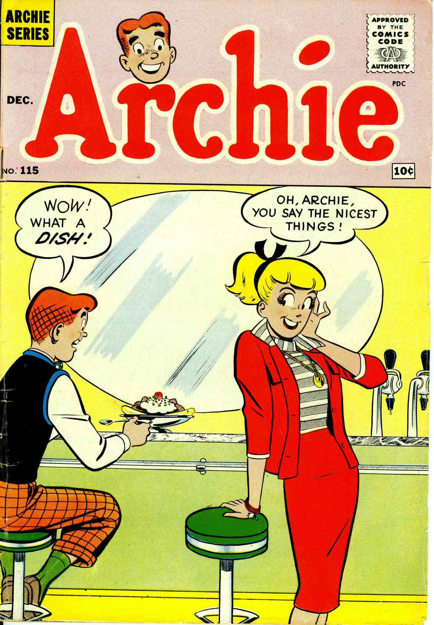 Read online Archie (1960) comic -  Issue #115 - 1