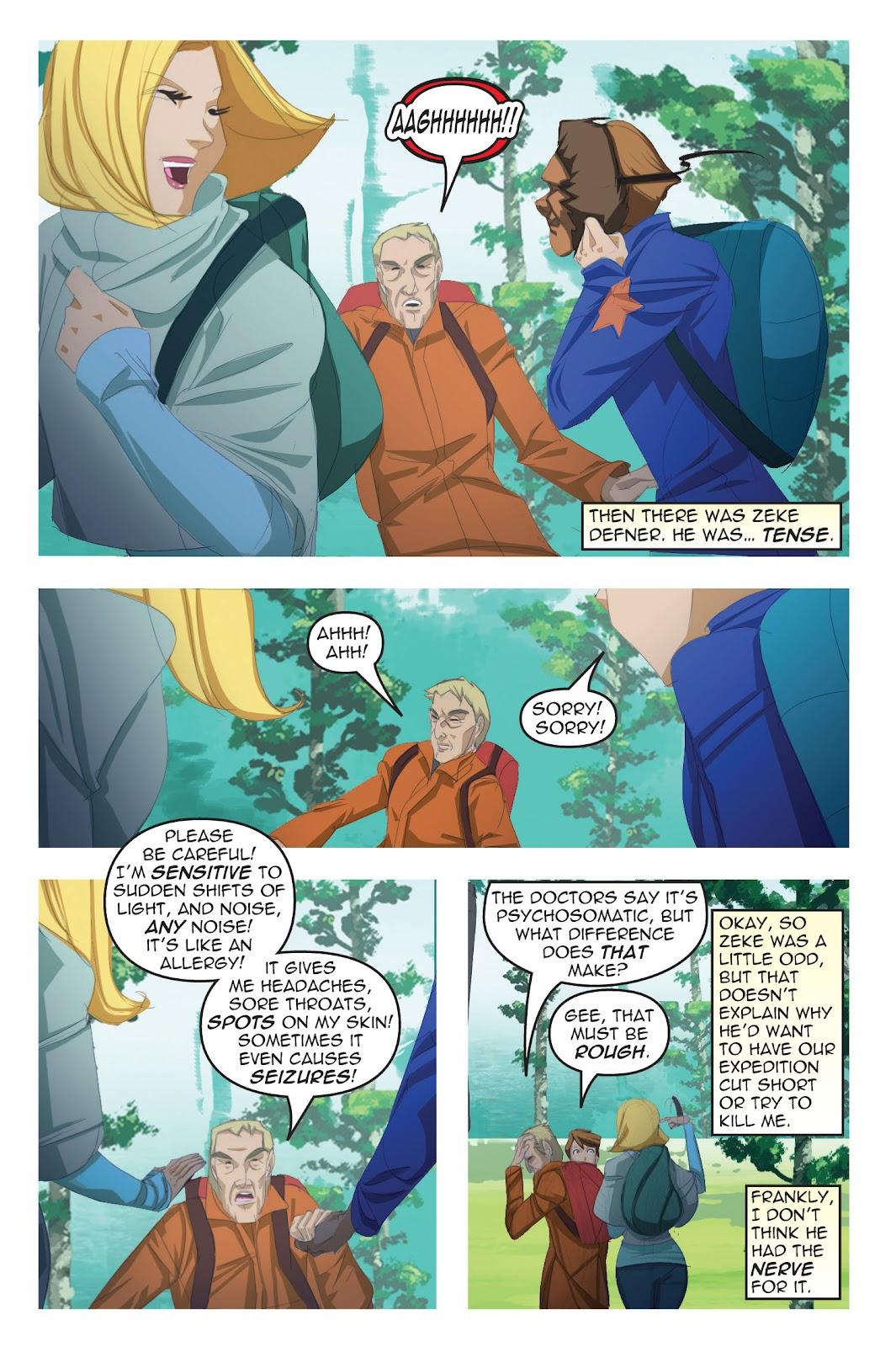 Read online Nancy Drew comic -  Issue #19 - 21