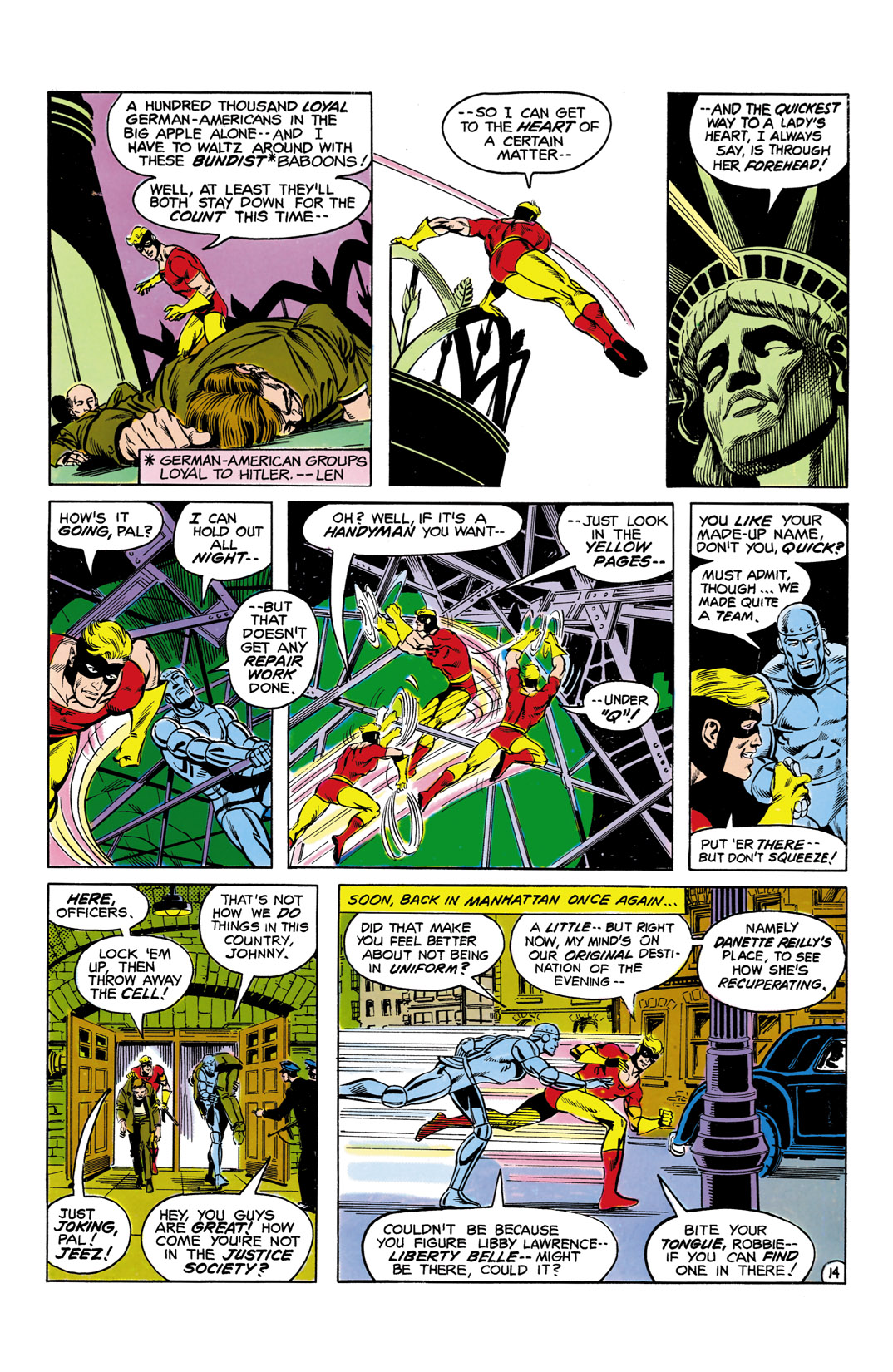Read online All-Star Squadron comic -  Issue #5 - 15