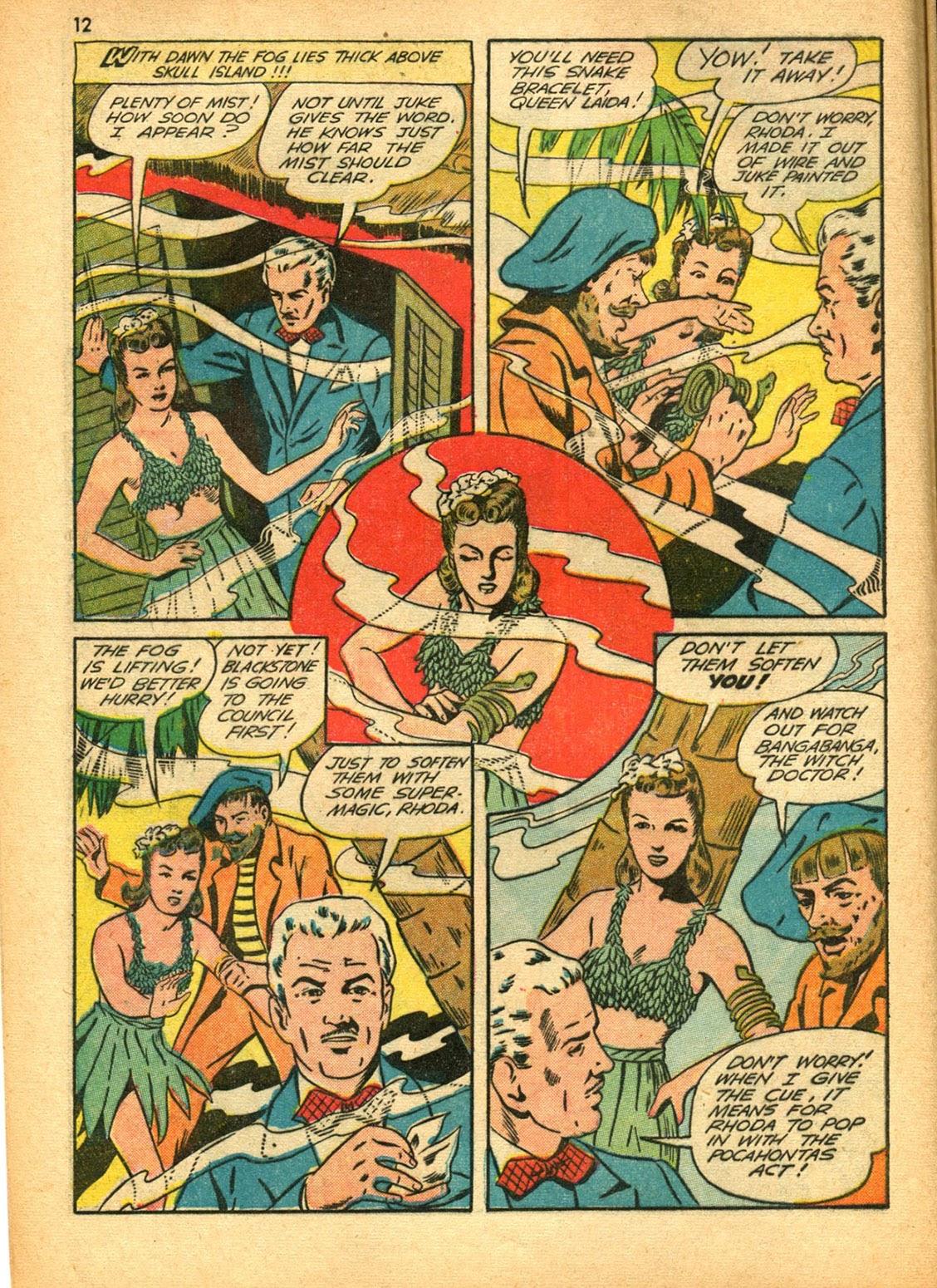 Read online Super-Magician Comics comic -  Issue #15 - 12