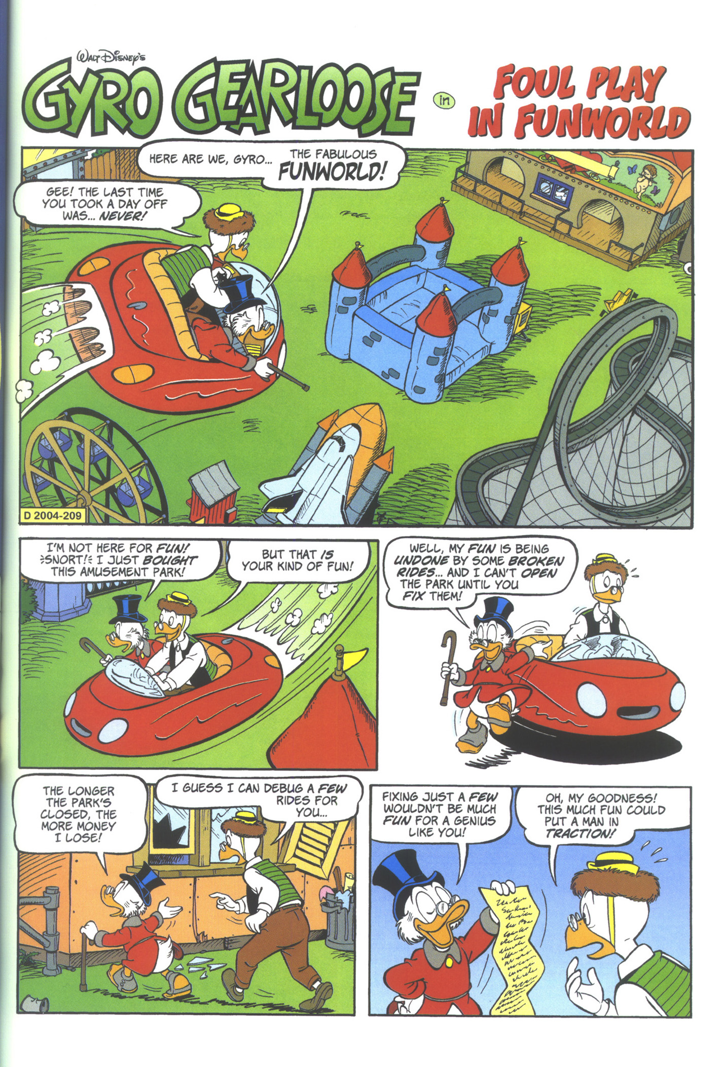 Read online Uncle Scrooge (1953) comic -  Issue #361 - 23