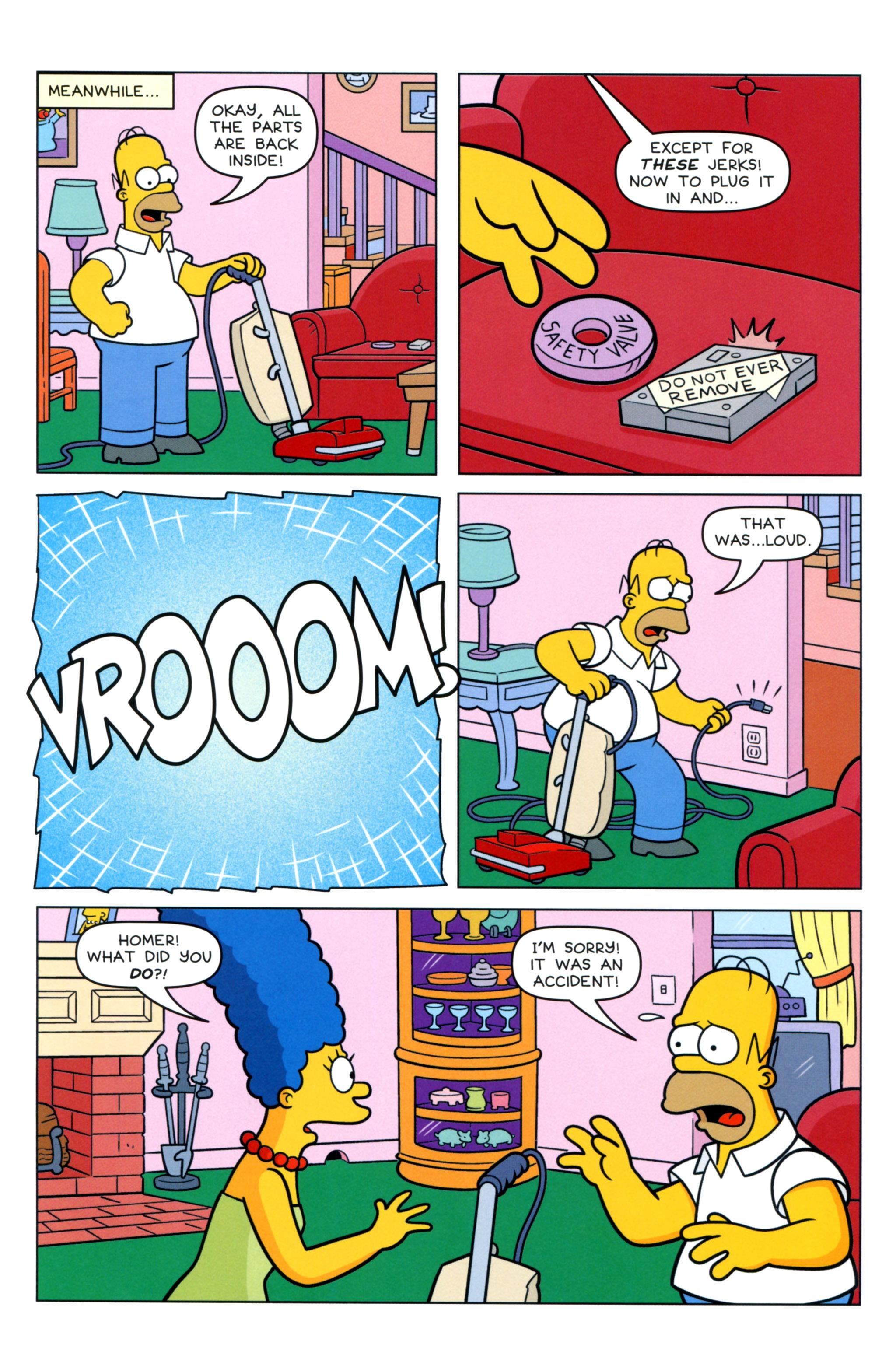 Read online Simpsons Comics comic -  Issue #217 - 7