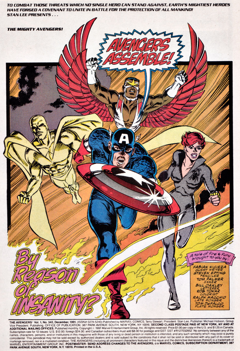 The Avengers (1963) 342 Page 1