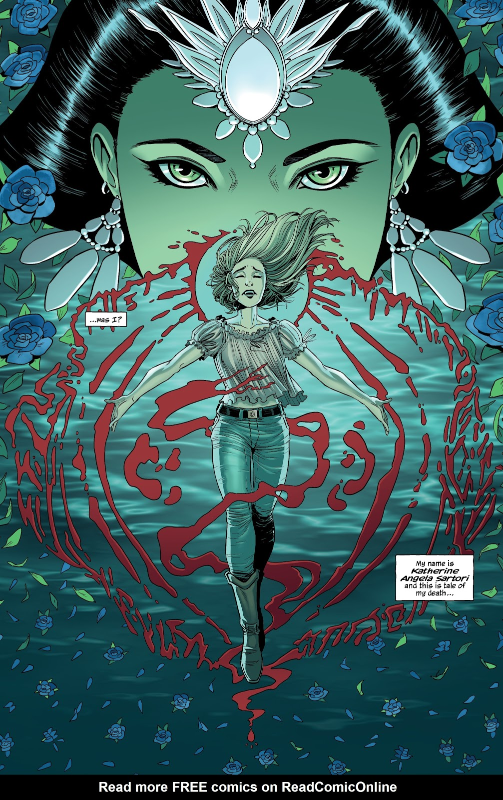 Read online The Girl In The Bay comic -  Issue #1 - 4
