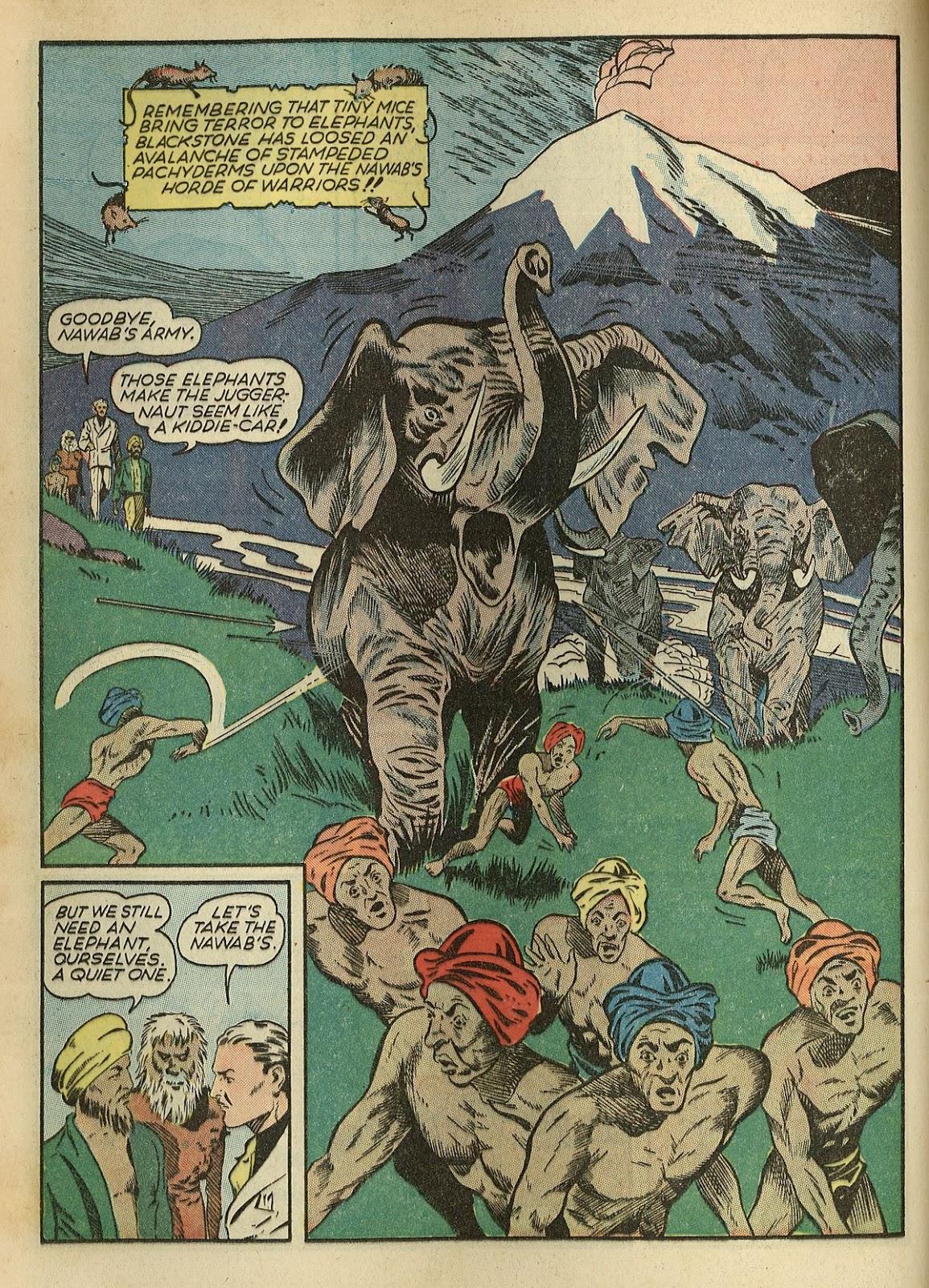 Read online Super-Magician Comics comic -  Issue #1 - 30