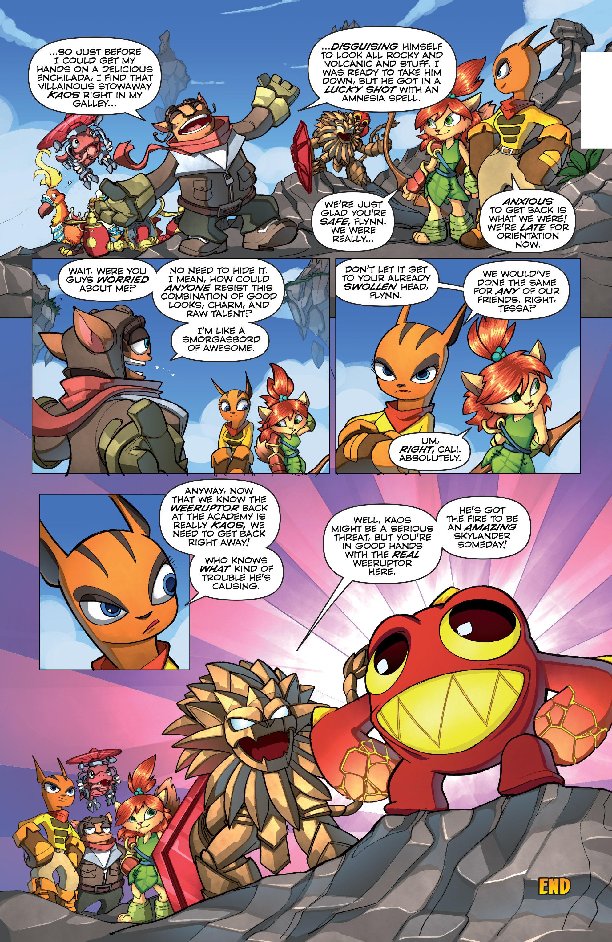Read online Skylanders comic -  Issue #2 - 18