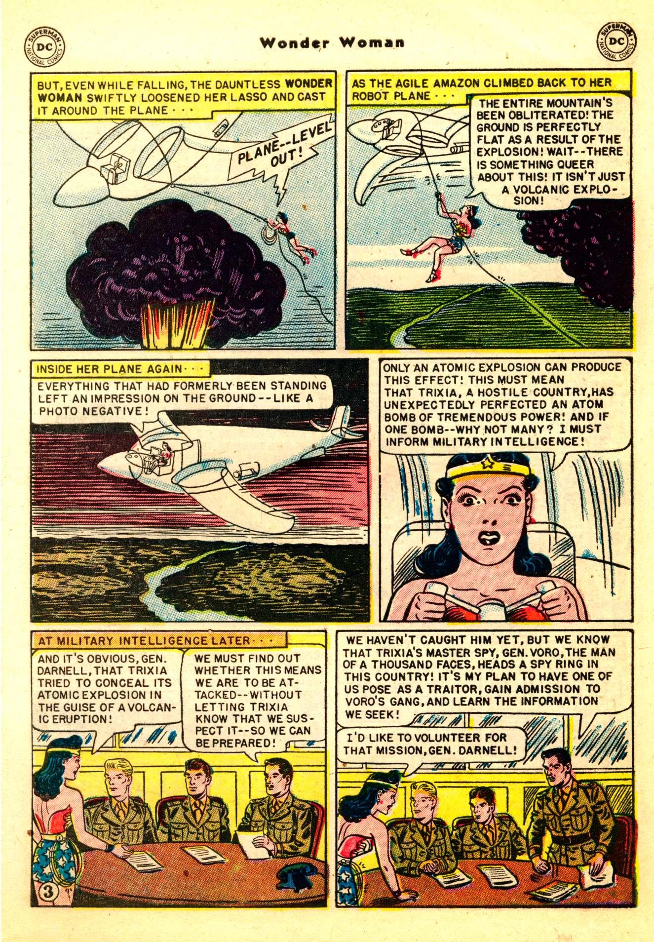 Read online Wonder Woman (1942) comic -  Issue #50 - 5