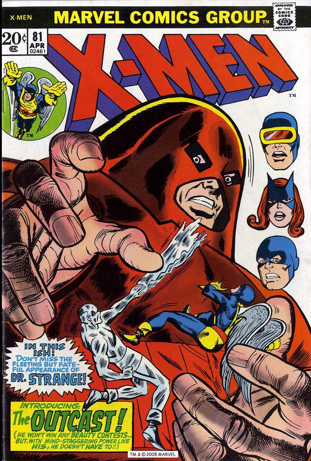 Read online Uncanny X-Men (1963) comic -  Issue #81 - 1
