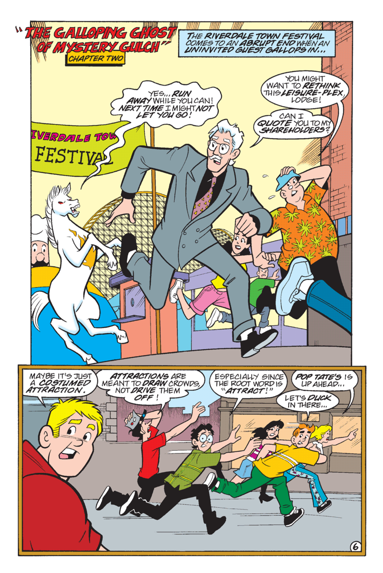 Read online Archie's Weird Mysteries comic -  Issue #23 - 8