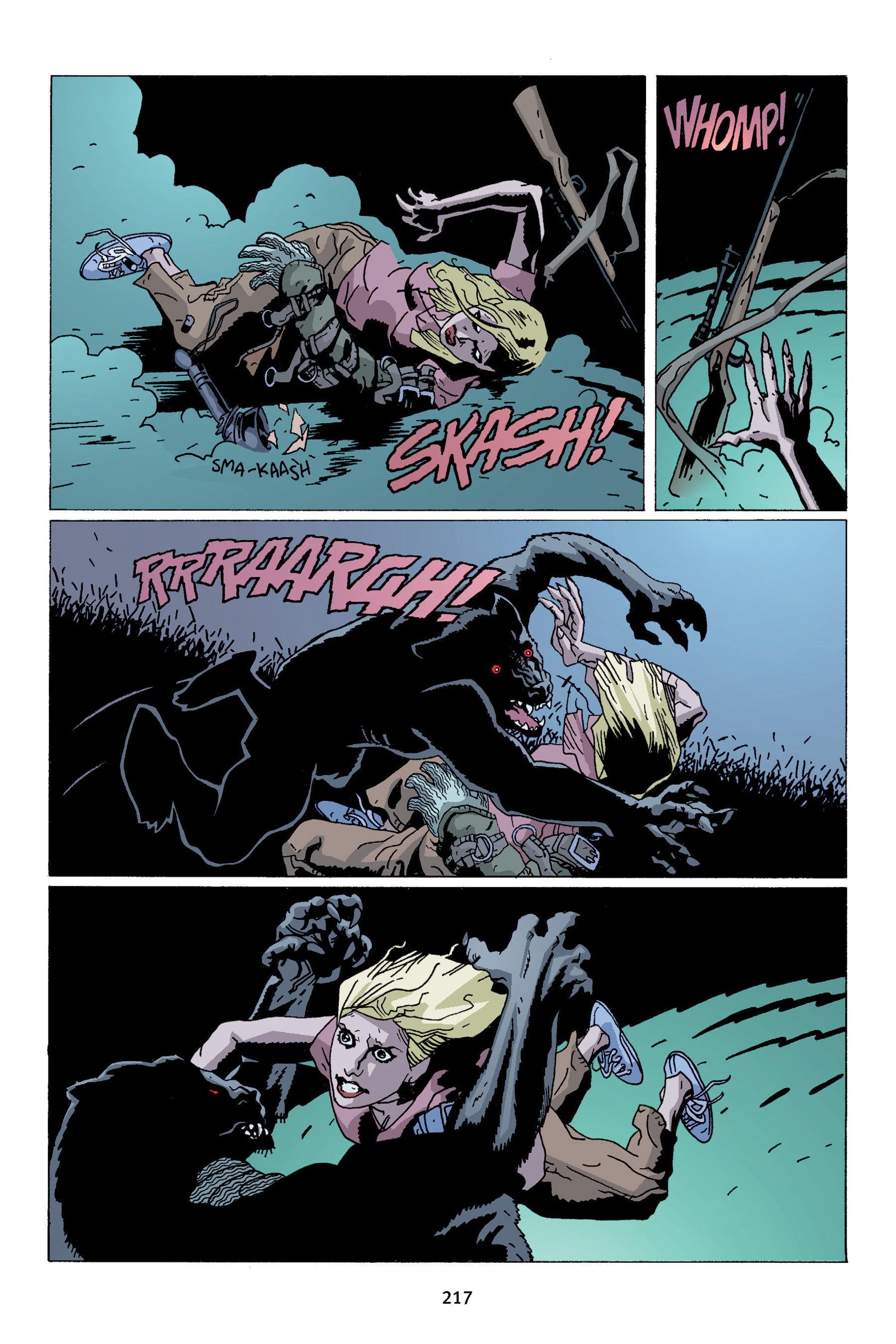 Read online Buffy the Vampire Slayer: Omnibus comic -  Issue # TPB 4 - 215