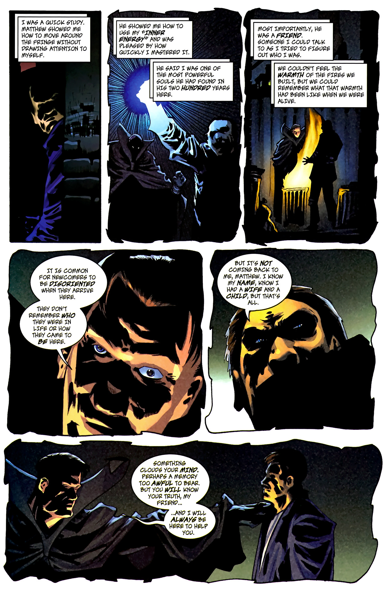 Read online The Grim Ghost comic -  Issue #1 - 14