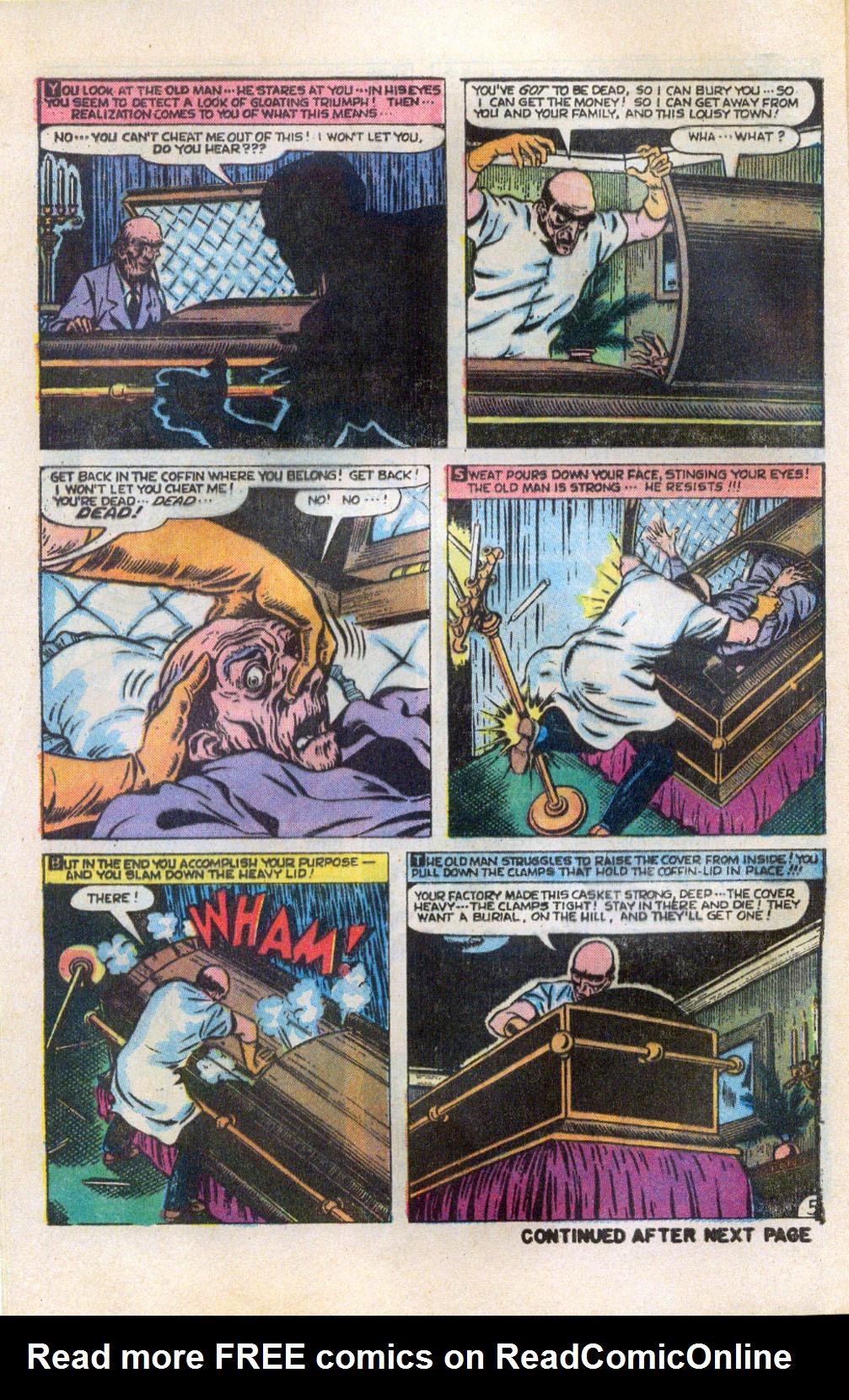 Read online Adventures into Weird Worlds comic -  Issue #5 - 6