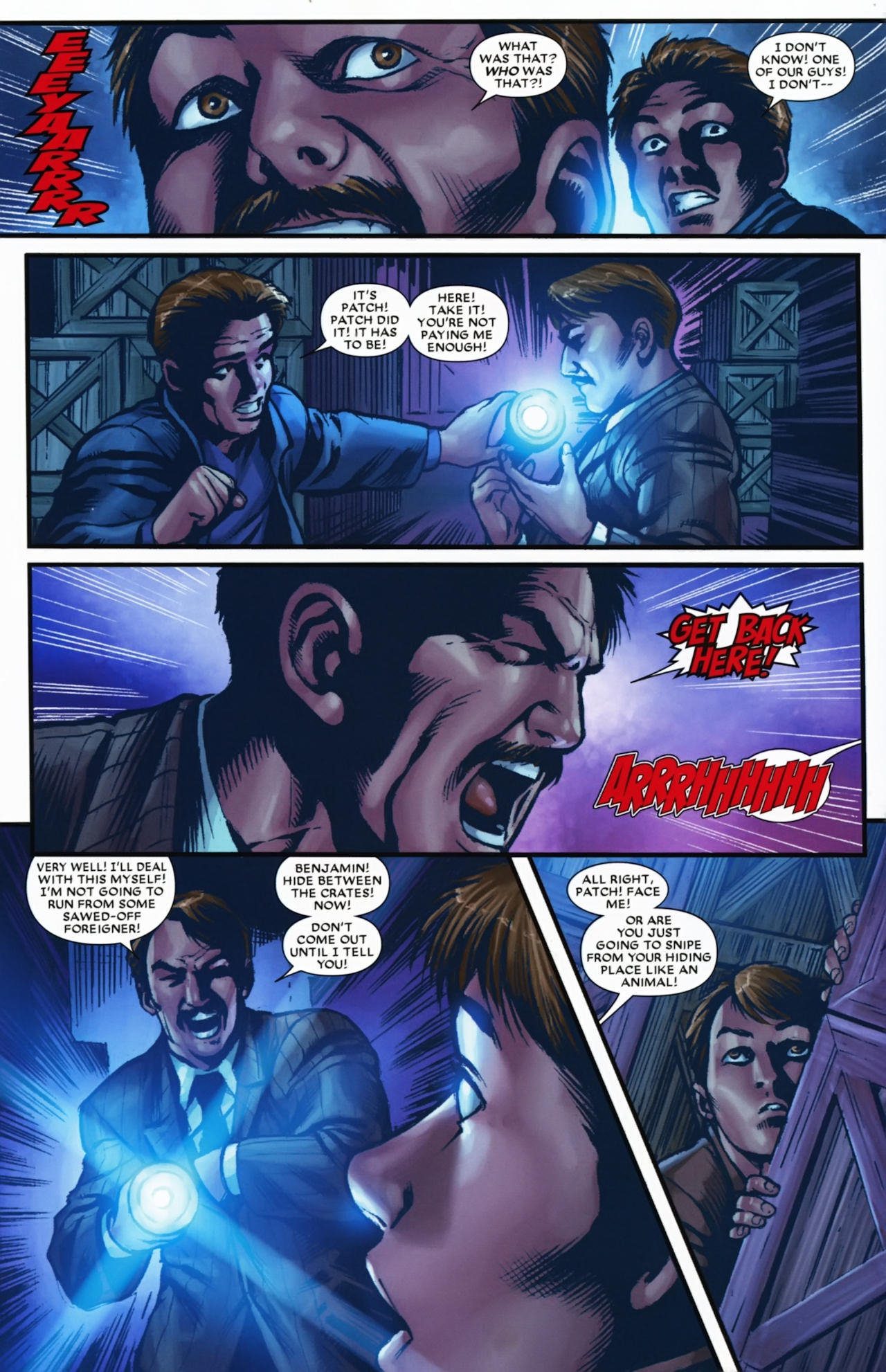 Read online Wolverine: First Class comic -  Issue #17 - 6