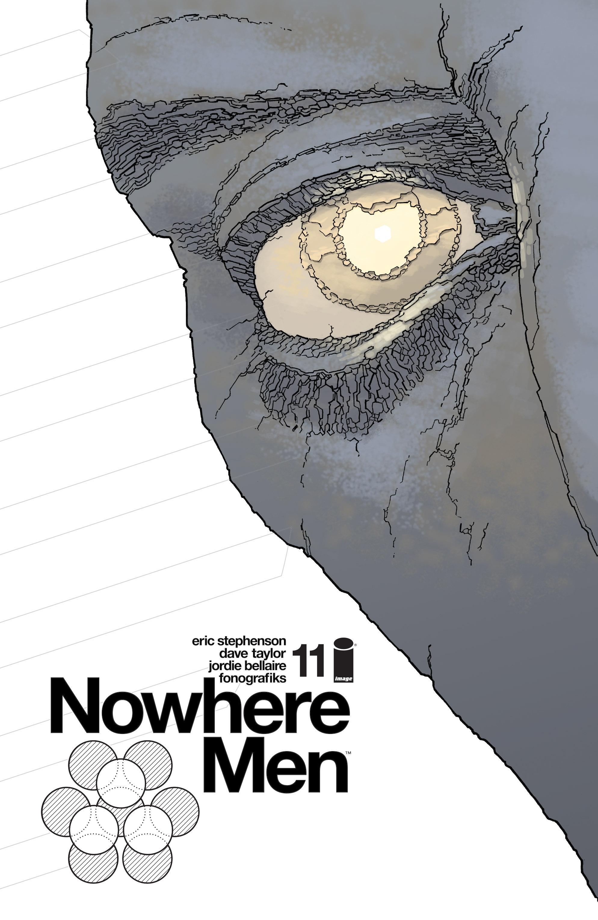 Nowhere Men 11 Page 1