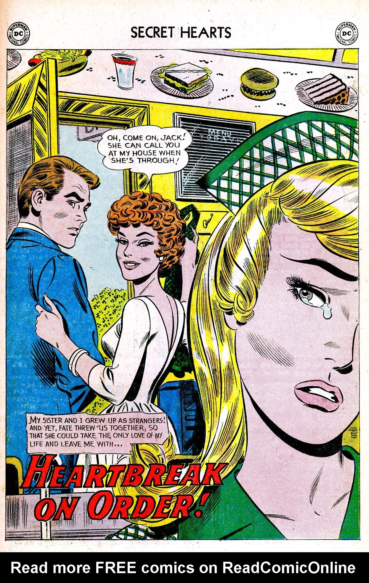 Read online Secret Hearts comic -  Issue #85 - 27