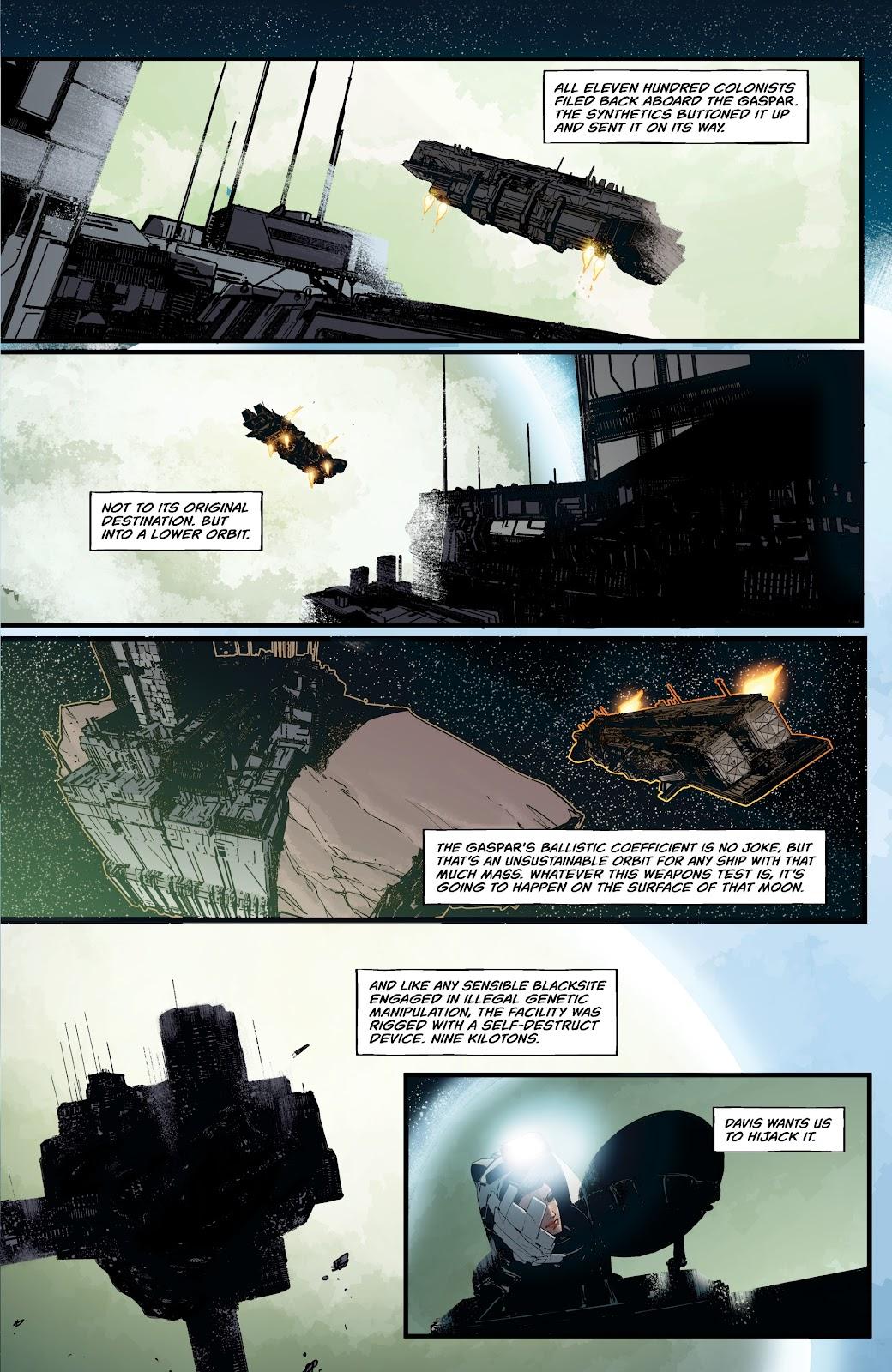Read online Aliens: Resistance comic -  Issue #2 - 15
