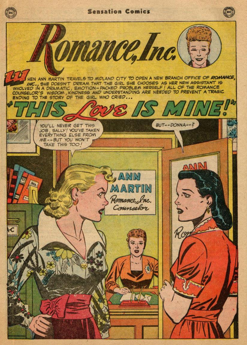 Read online Sensation (Mystery) Comics comic -  Issue #100 - 42