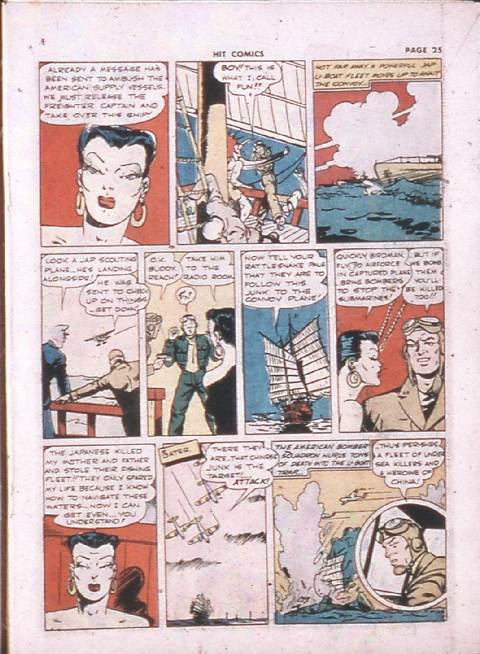 Read online Hit Comics comic -  Issue #24 - 27