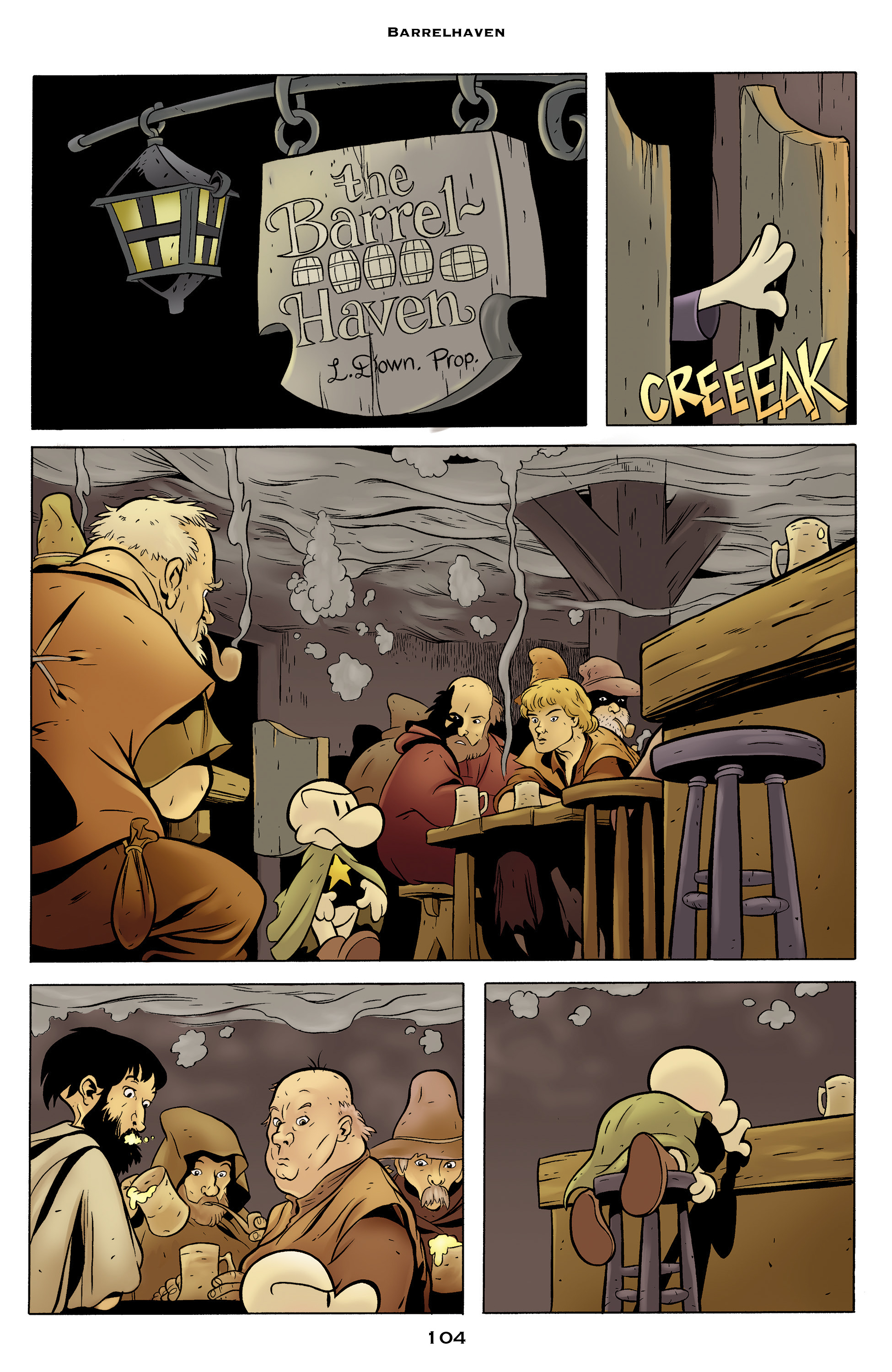 Read online Bone: Out From Boneville comic -  Issue # TPB - 104