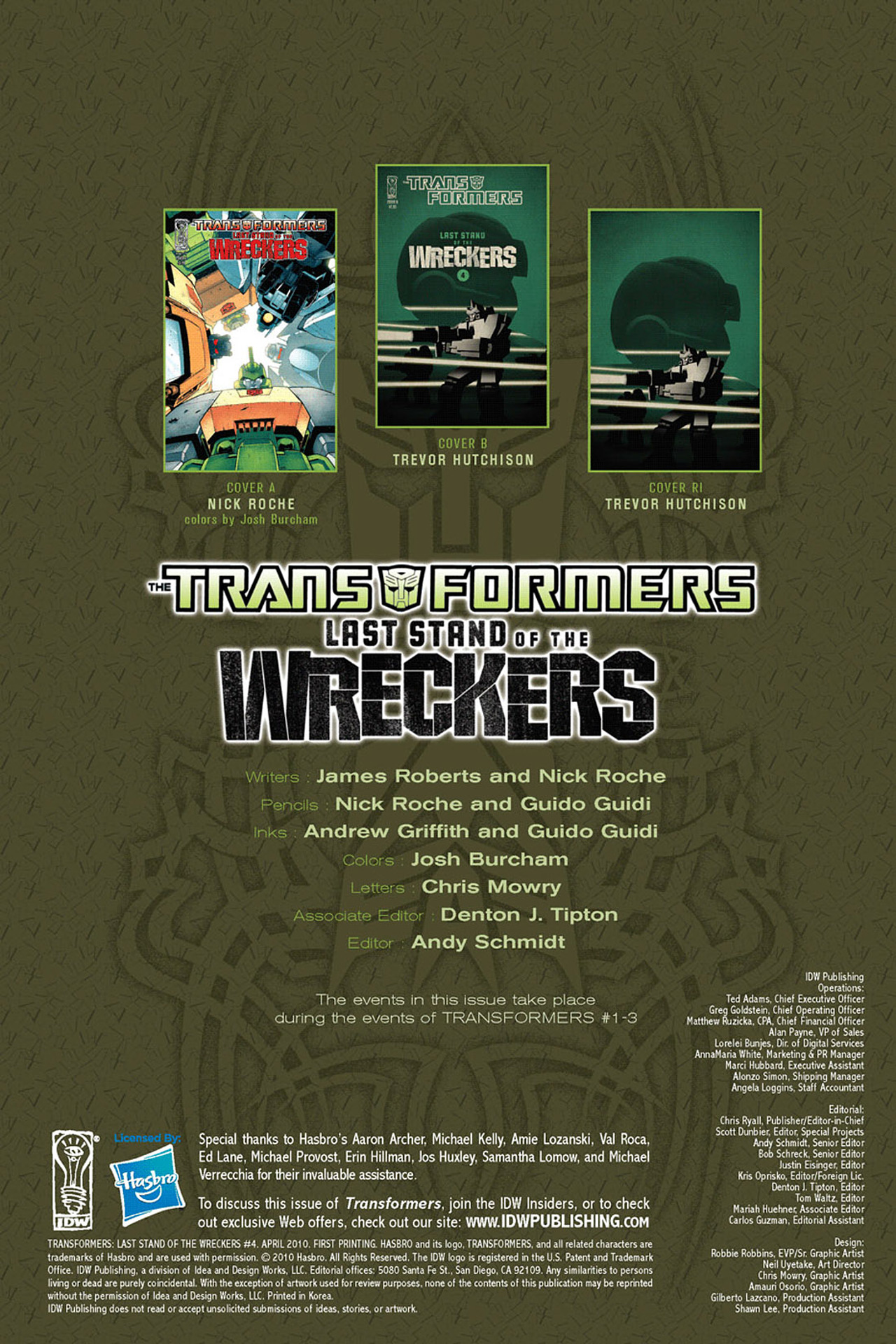 Read online Transformers: Last Stand of The Wreckers comic -  Issue #4 - 3