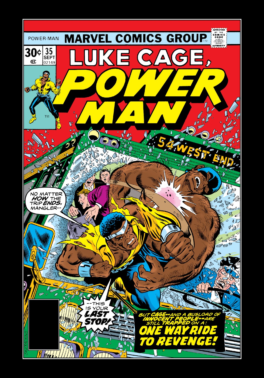 Read online Marvel Masterworks: Luke Cage, Power Man comic -  Issue # TPB 3 (Part 1) - 63