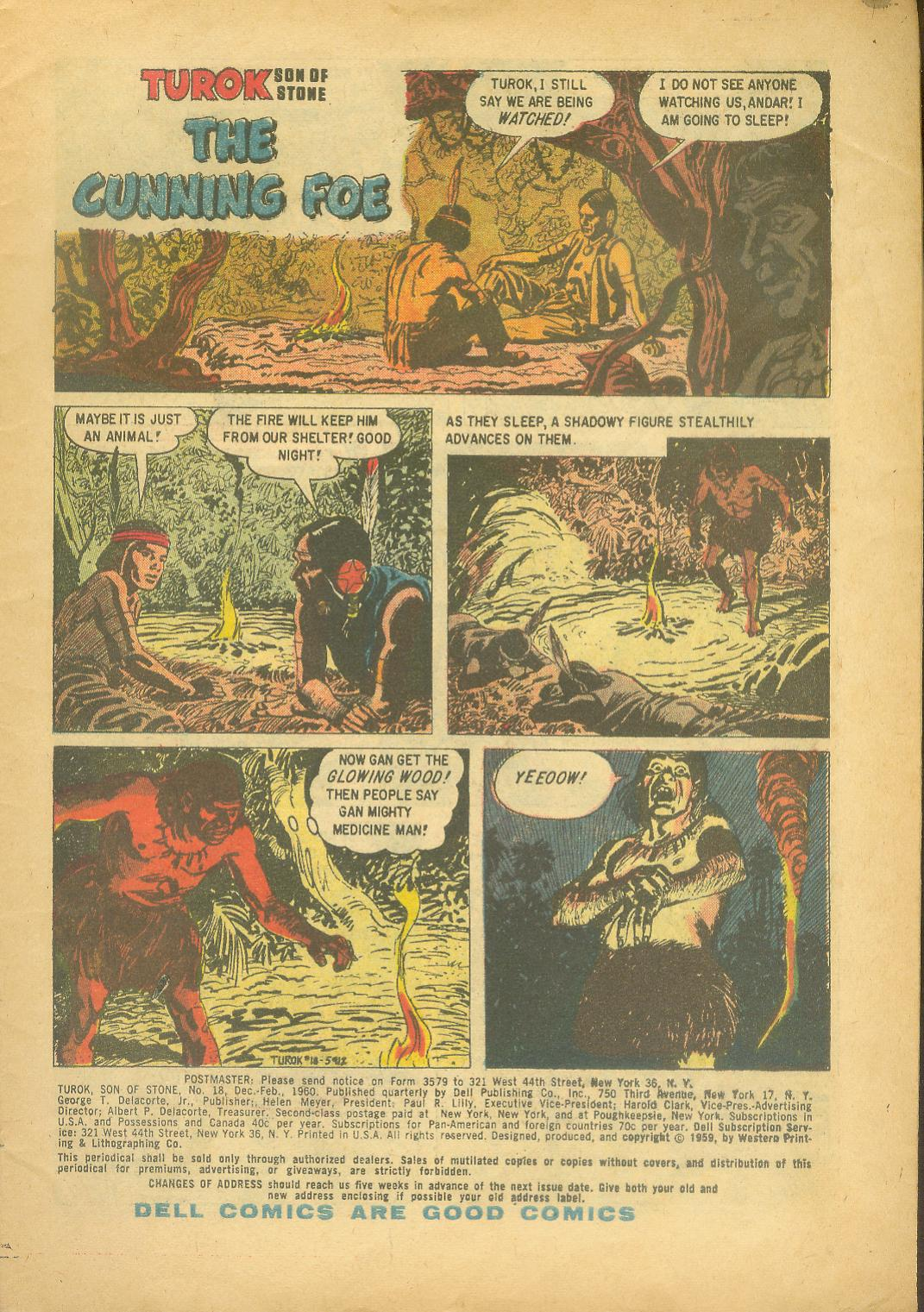 Read online Turok, Son of Stone comic -  Issue #18 - 3