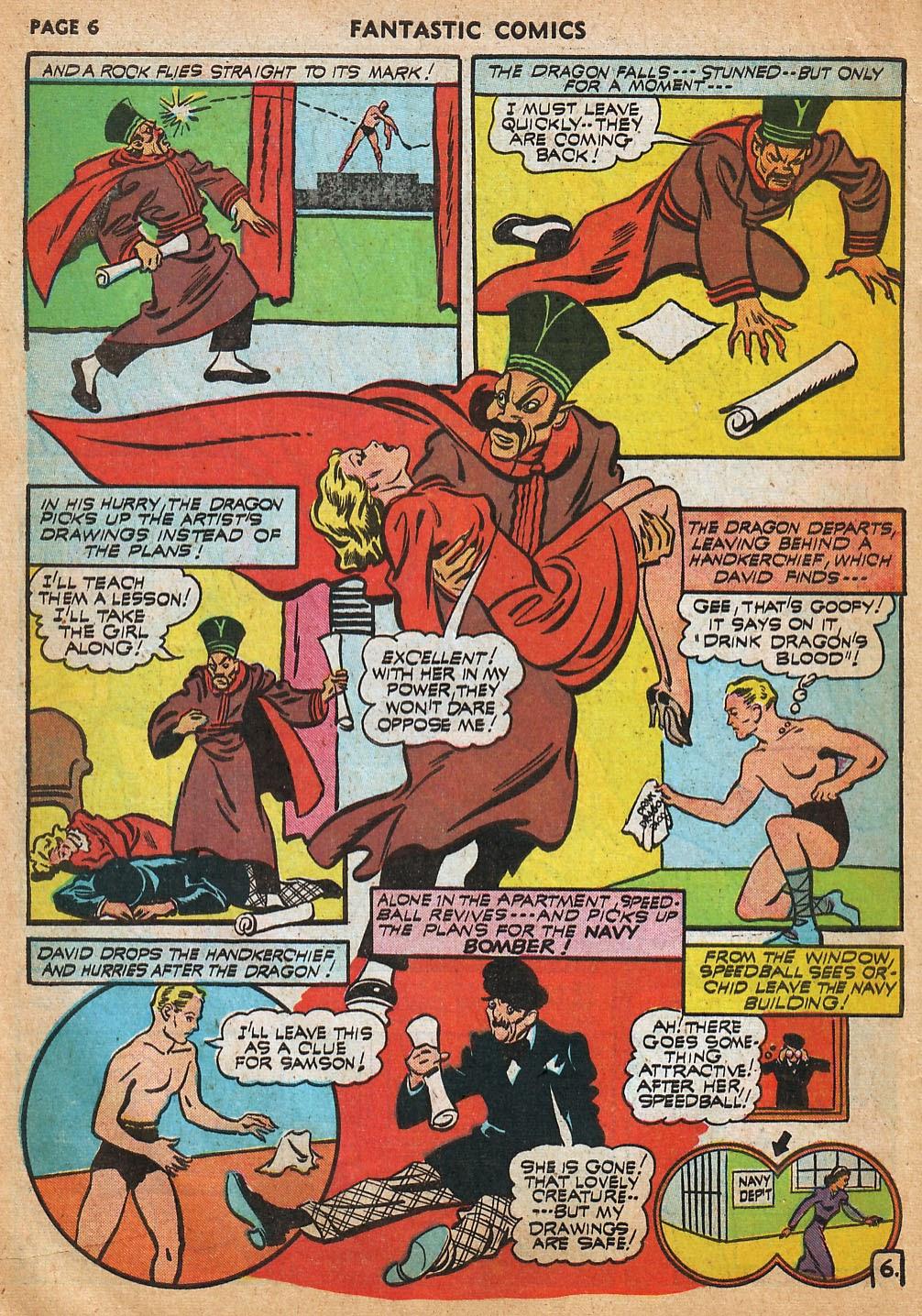 Read online Fantastic Comics comic -  Issue #22 - 8